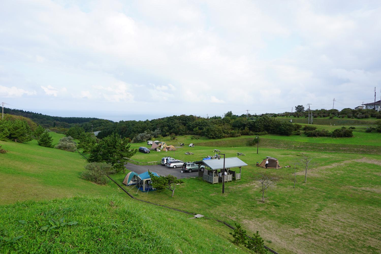 夷王山キャンプ場
