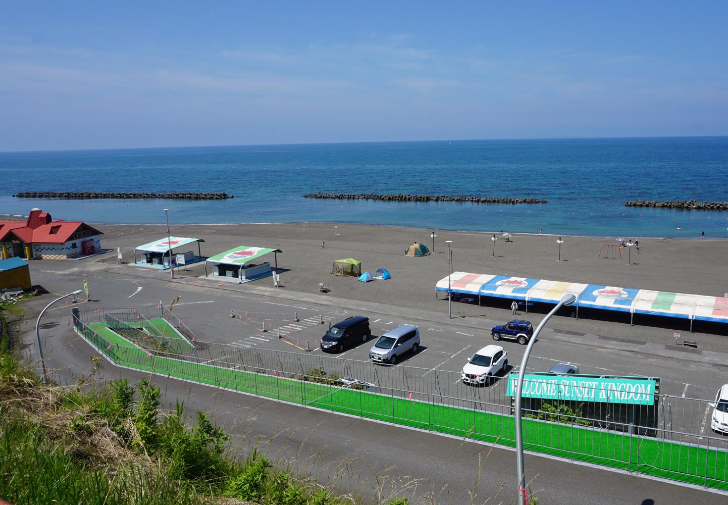 はぼろサンセットビーチ砂浜キャンプ場02