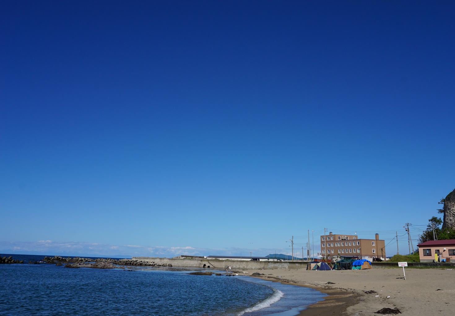 余市-浜中・モイレ海水浴場04