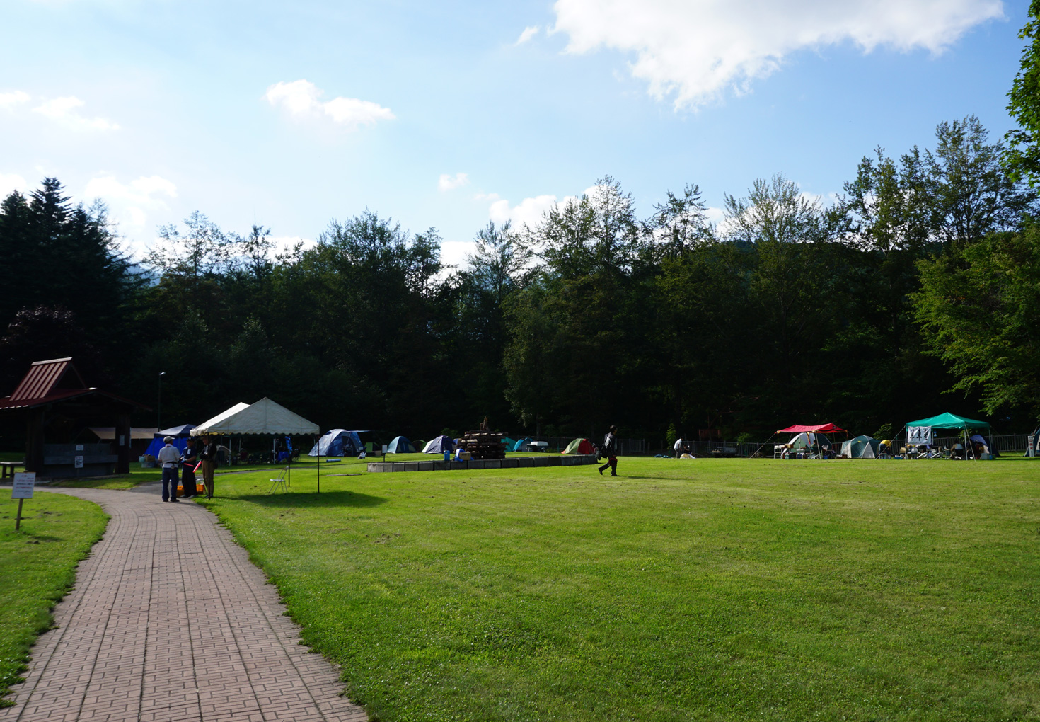 富良野市山部自然公園太陽の里キャンプ場06