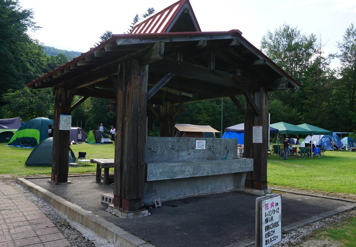 富良野市山部自然公園太陽の里キャンプ場08
