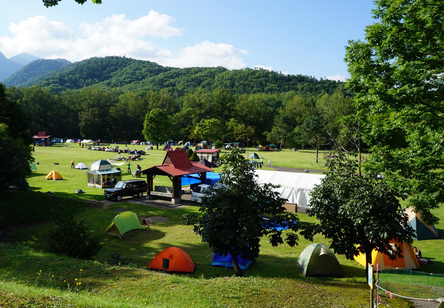 富良野市山部自然公園太陽の里キャンプ場10
