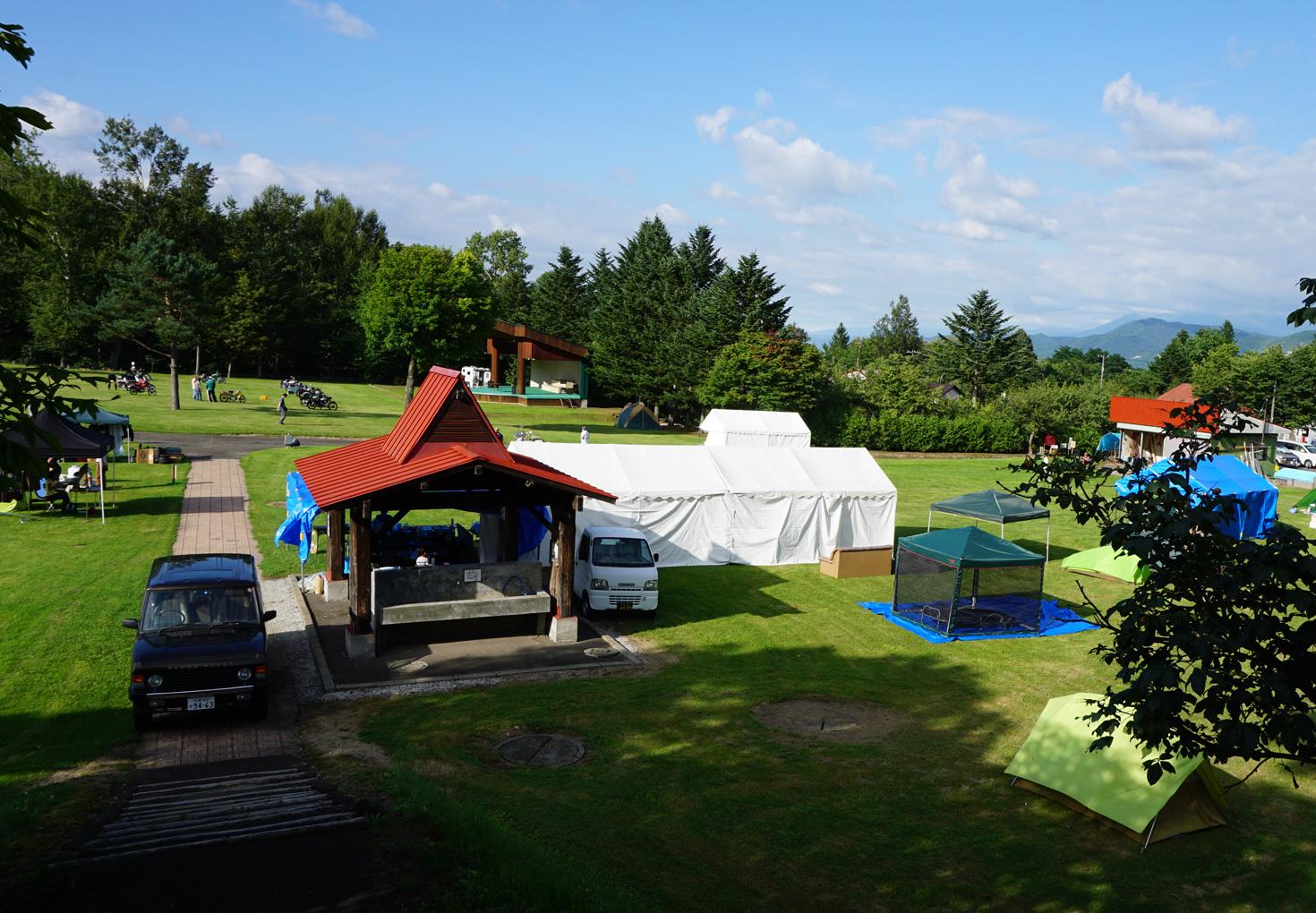 富良野市山部自然公園太陽の里キャンプ場11