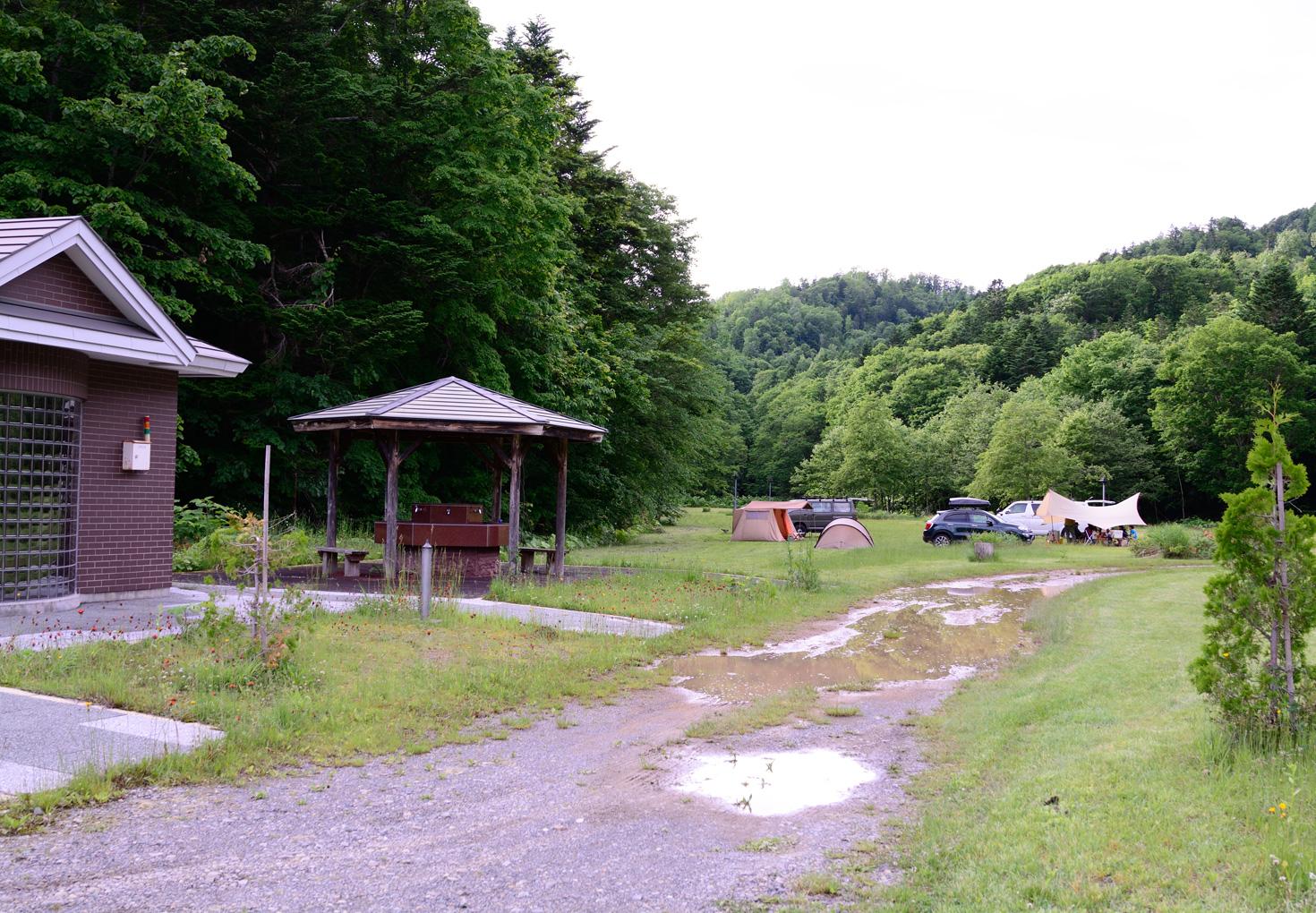 幌向川ダム多目的広場 キャンプサイト