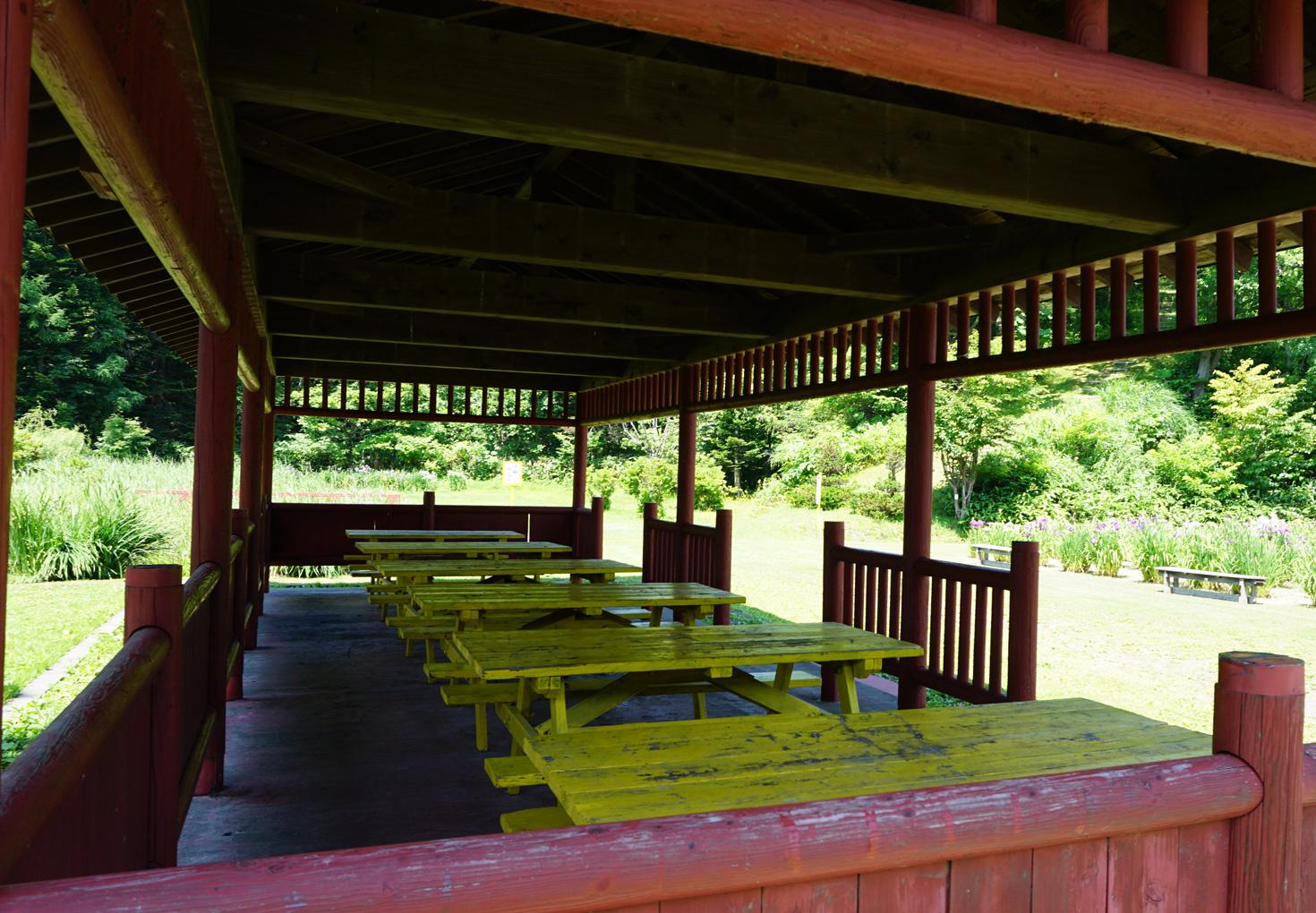 朝日公園花しょうぶ園キャンプ場08