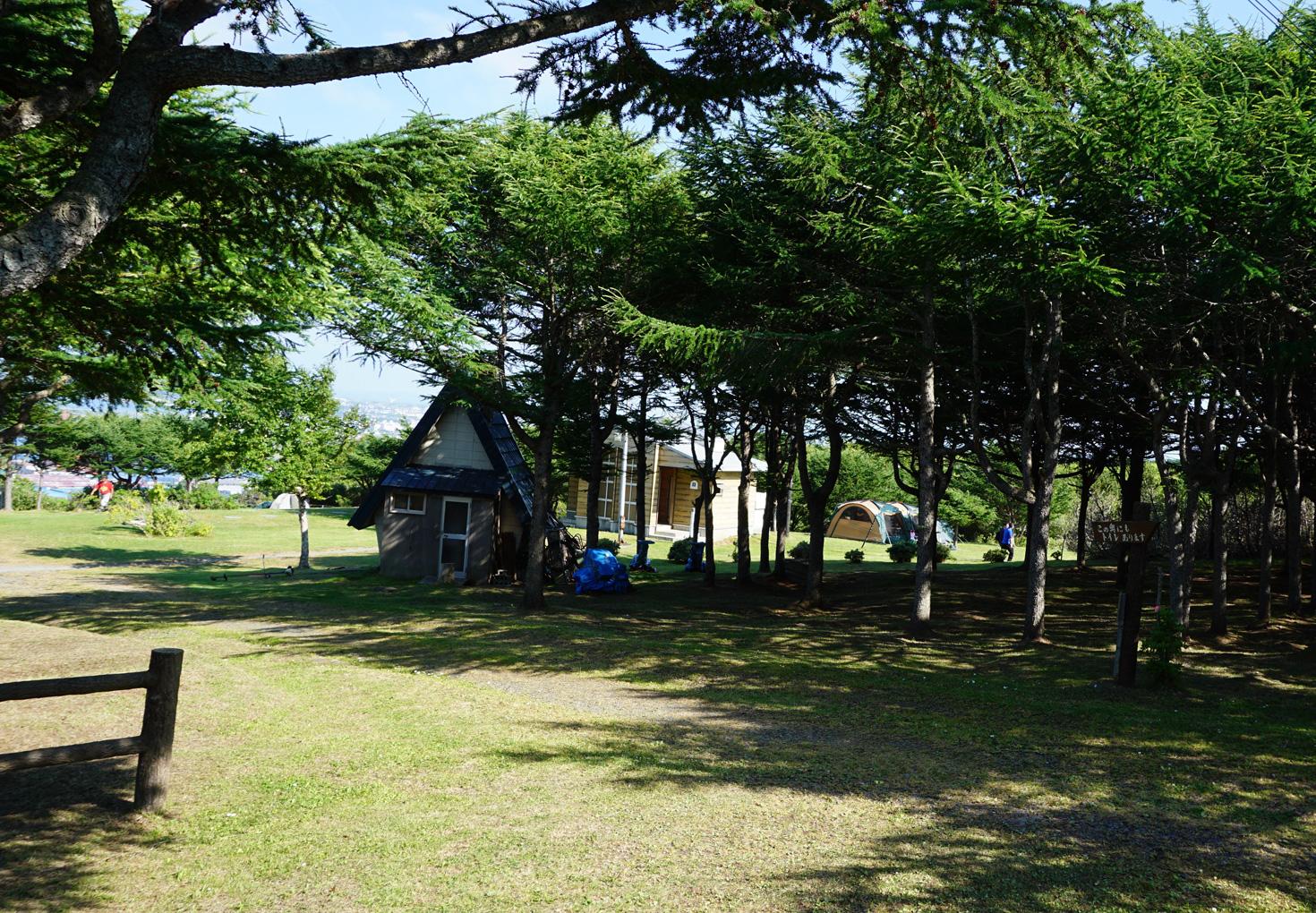 稚内森林公園キャンプ場04