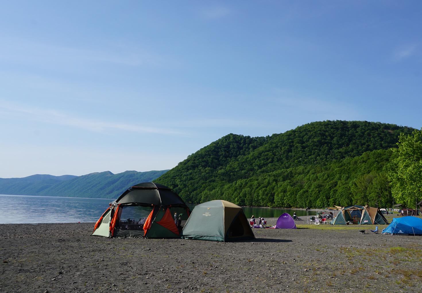支笏湖モーラップキャンプ場02