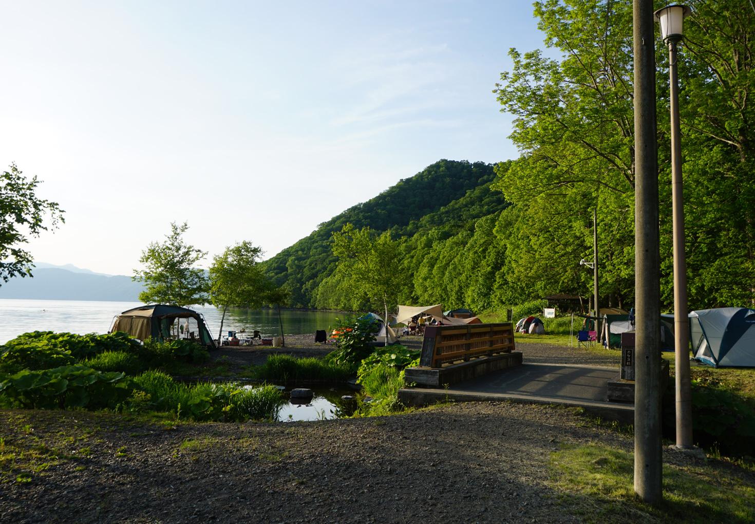支笏湖モーラップキャンプ場19