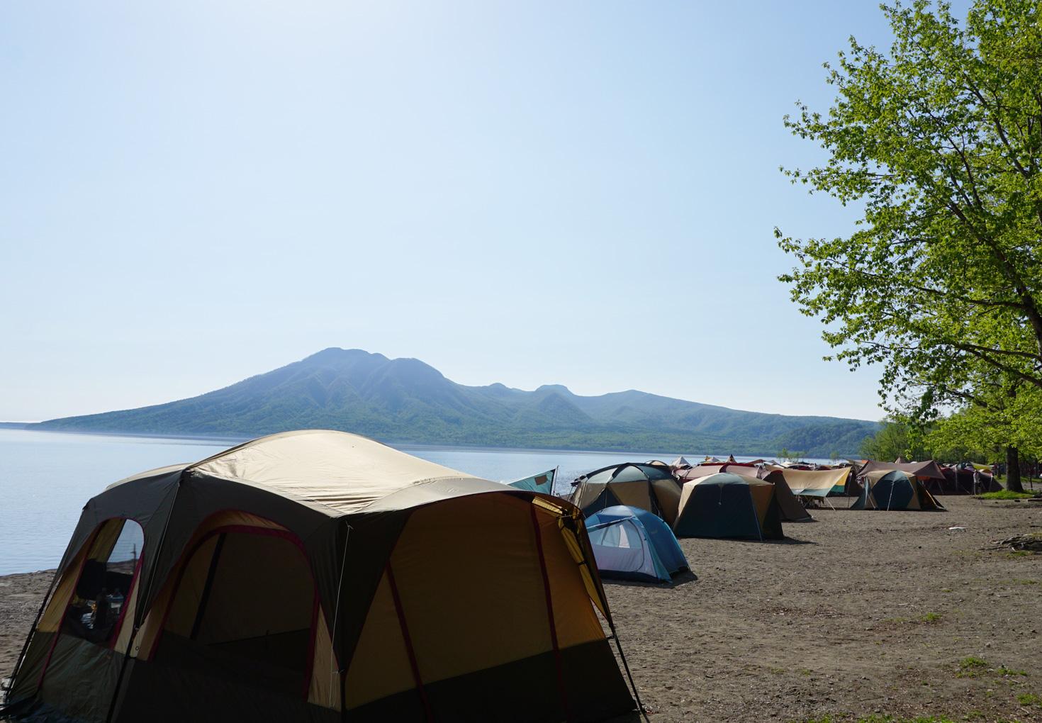 支笏湖美笛キャンプ場10