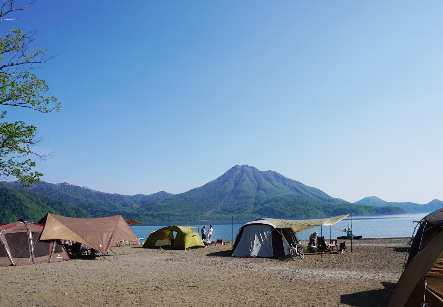 支笏湖美笛キャンプ場12