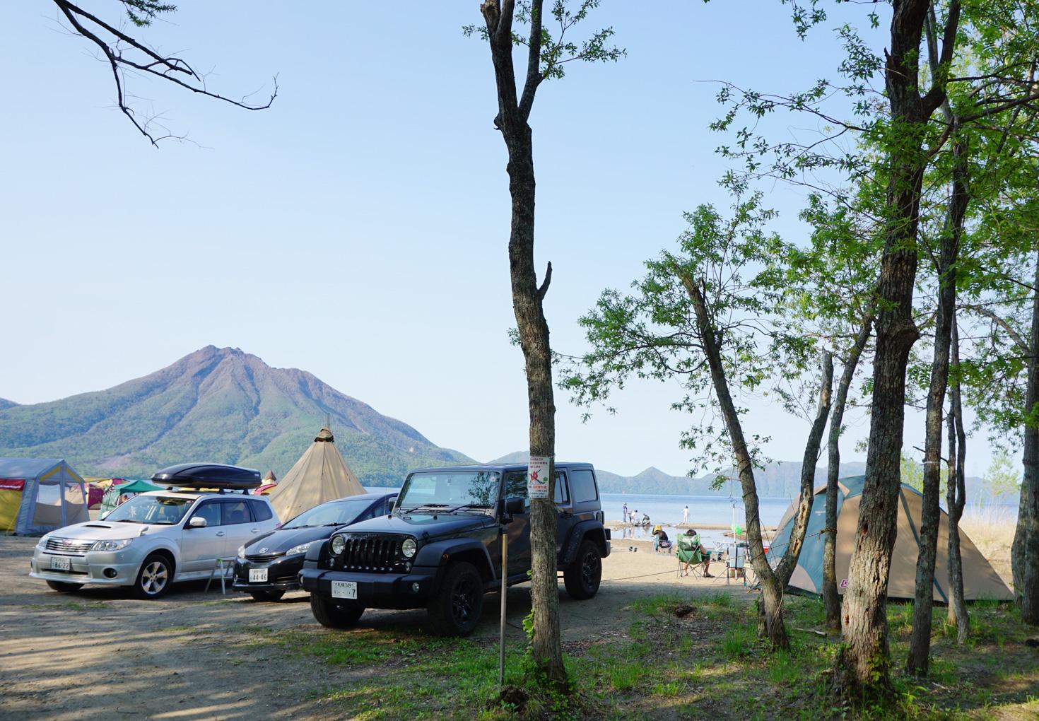 支笏湖美笛キャンプ場15