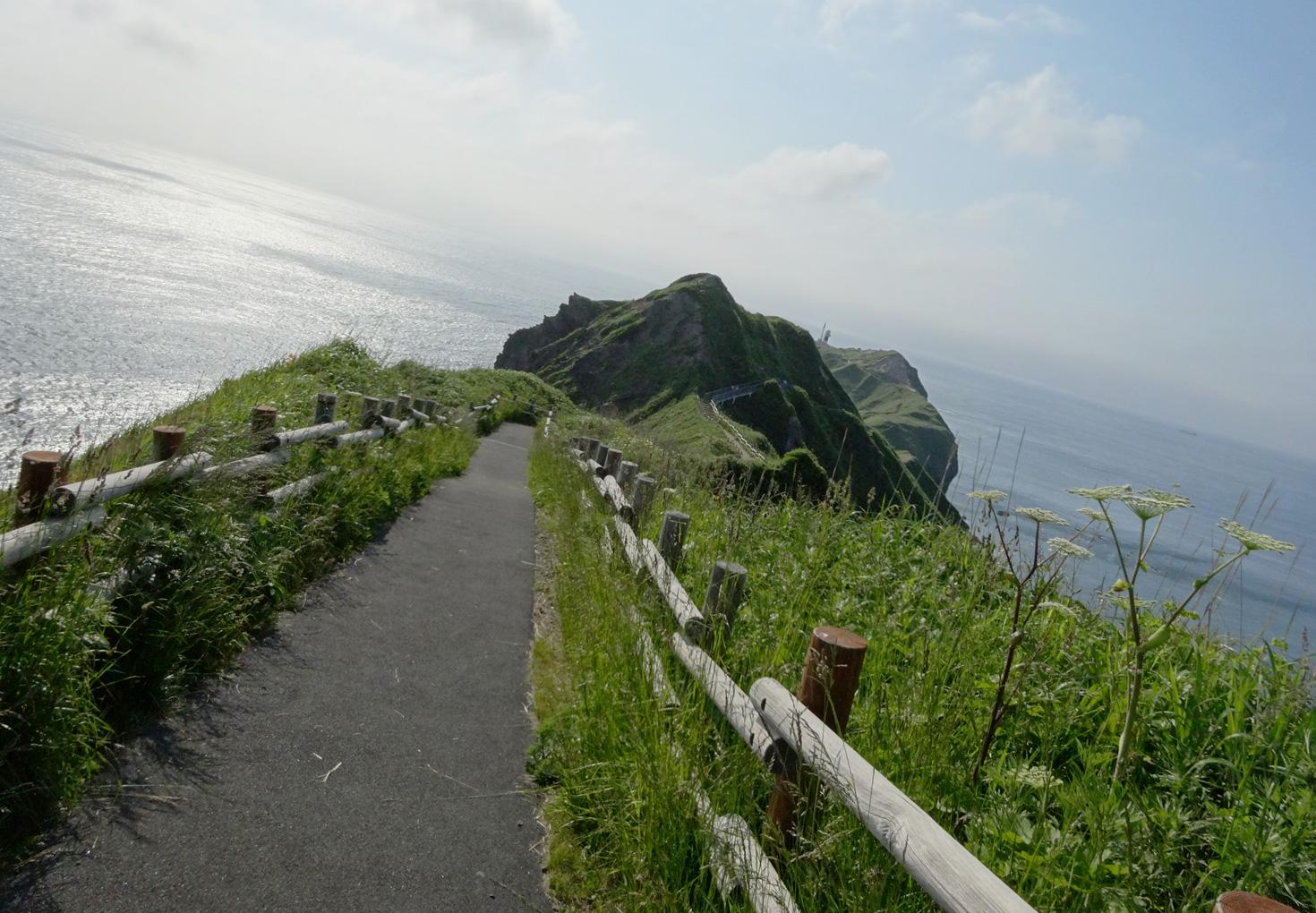神威岬展望台 遊歩道