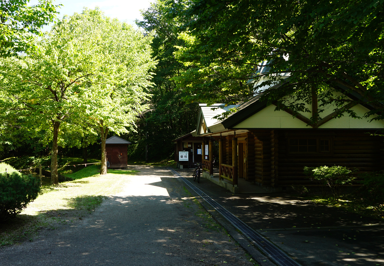千歳市泉沢自然の森キャンプ場トイレ