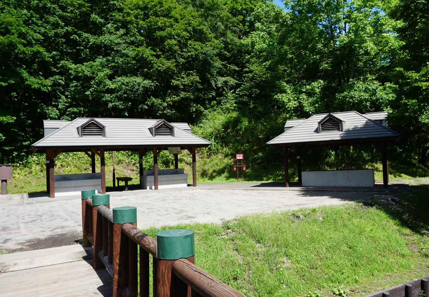 千歳市泉沢自然の森キャンプ場炊事場
