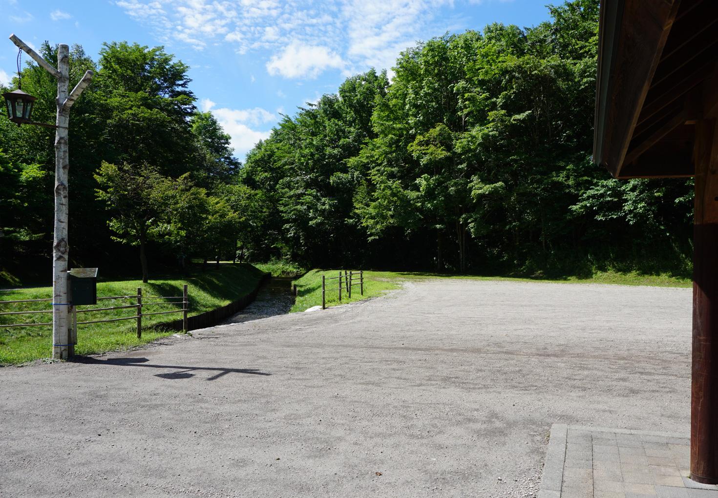 千歳市泉沢自然の森キャンプ場キャンプサイト