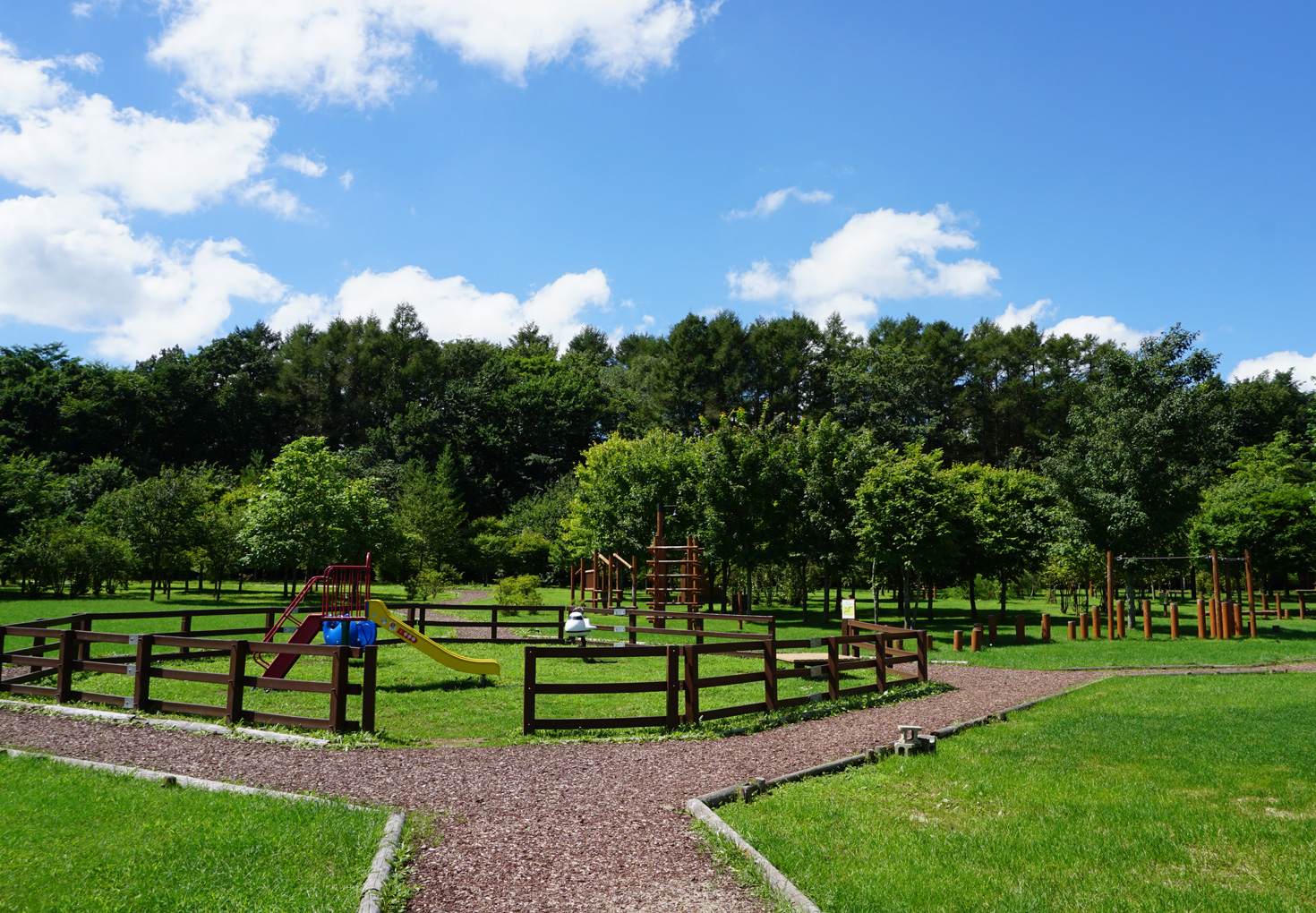 安平町鹿公園キャンプ場27