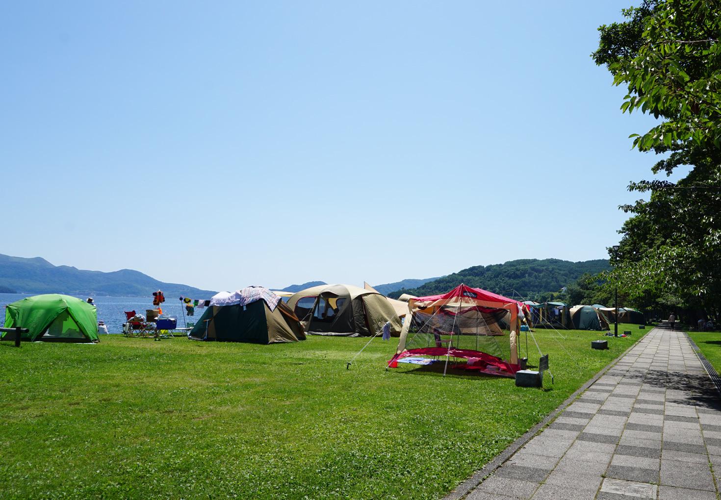 洞爺湖小公園キャンプ場01