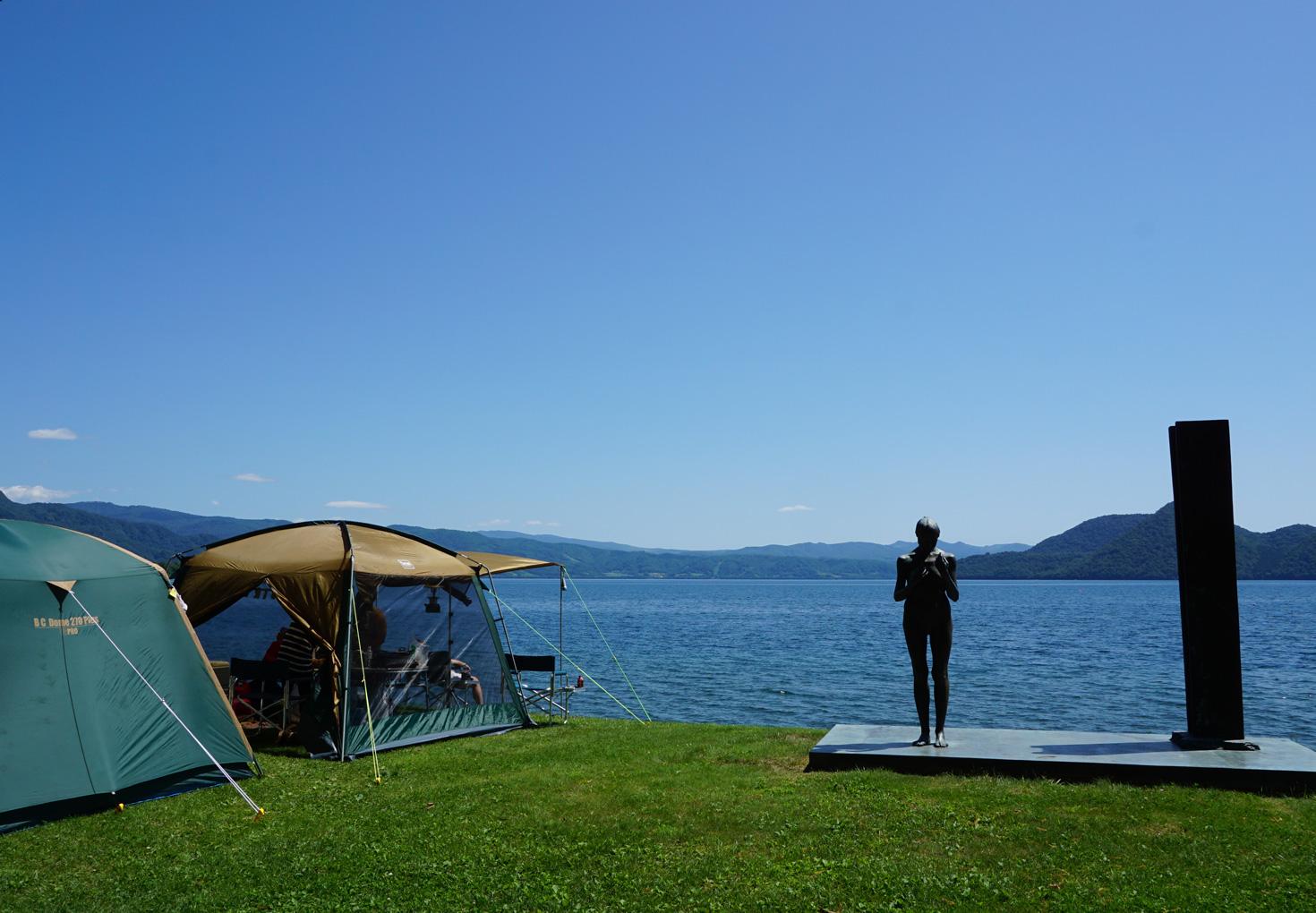 洞爺湖小公園キャンプ場10