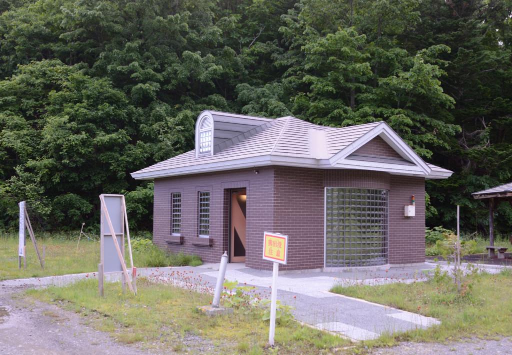 幌向ダム キャンプ場 トイレ