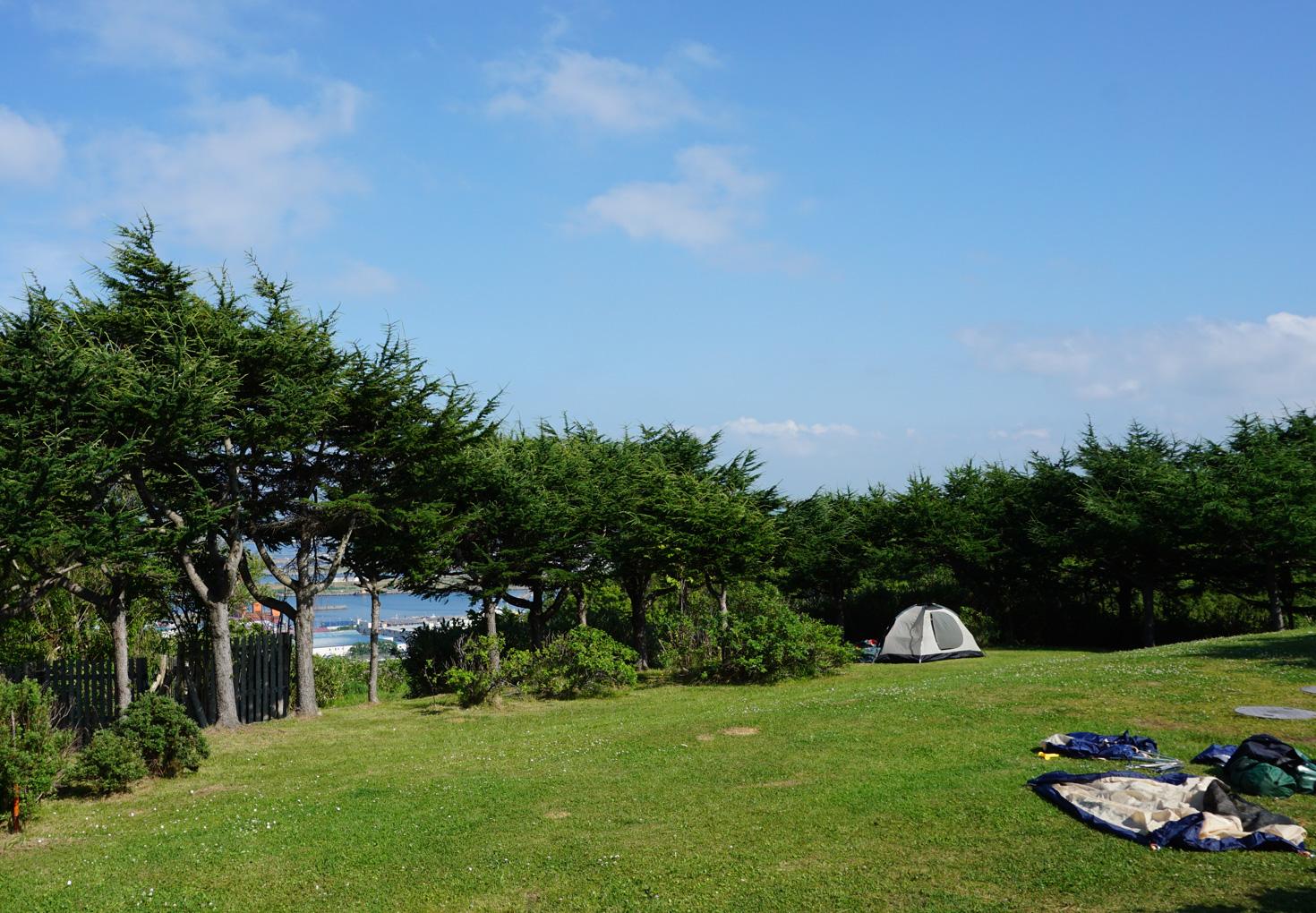 稚内森林公園キャンプ場01
