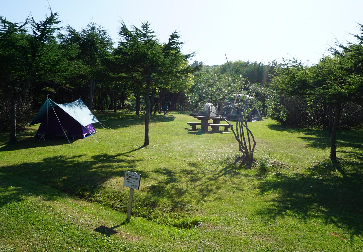 稚内森林公園キャンプ場02