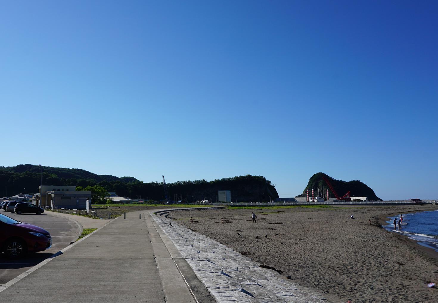 積丹美国小泊海岸野営場07