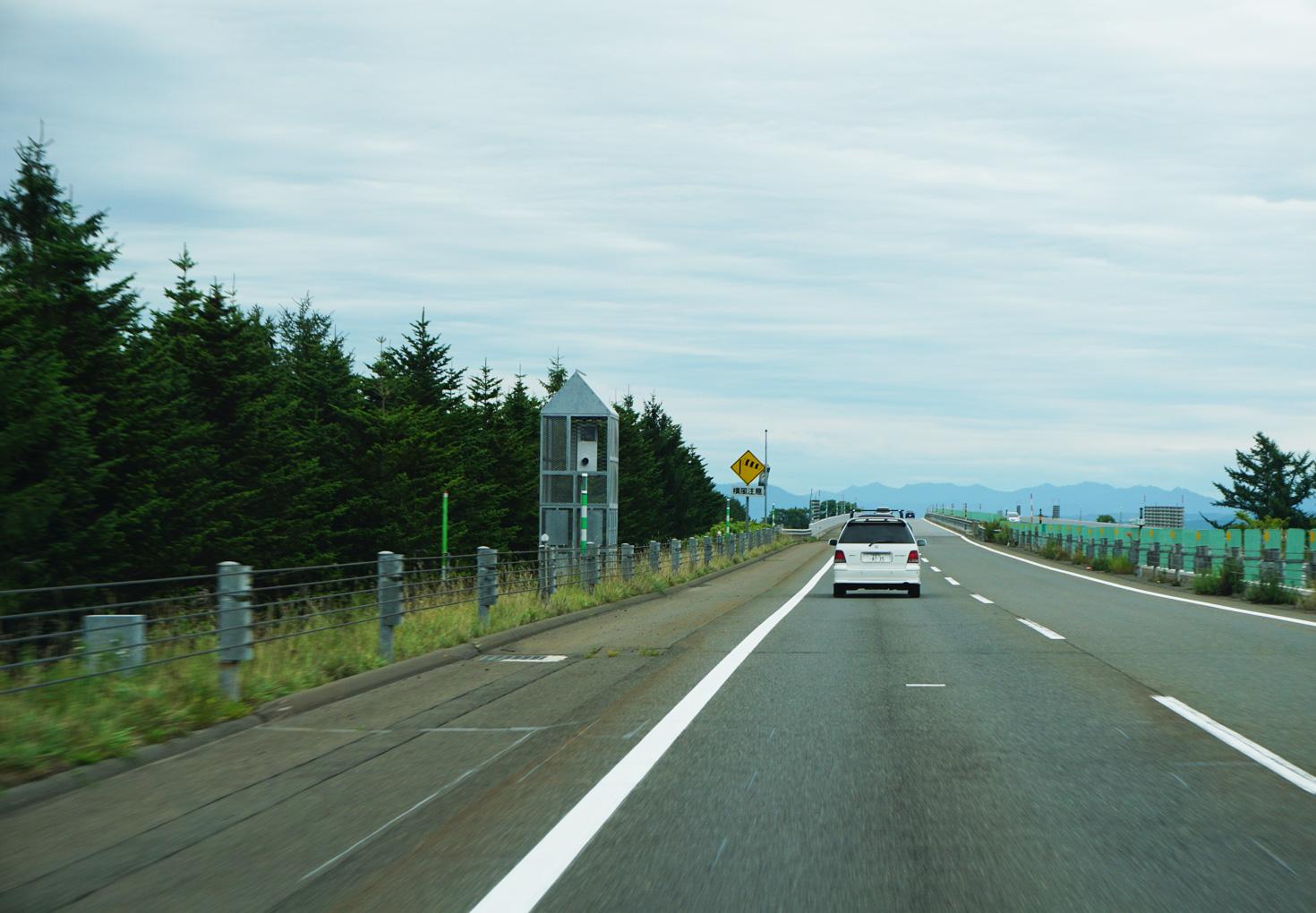 北海道高速道路オービス