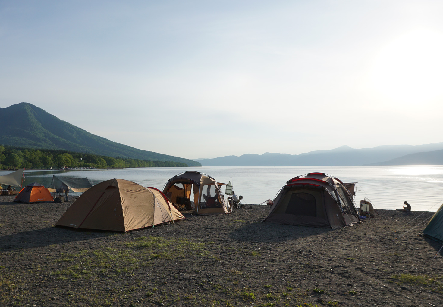 支笏湖モーラップキャンプ場18