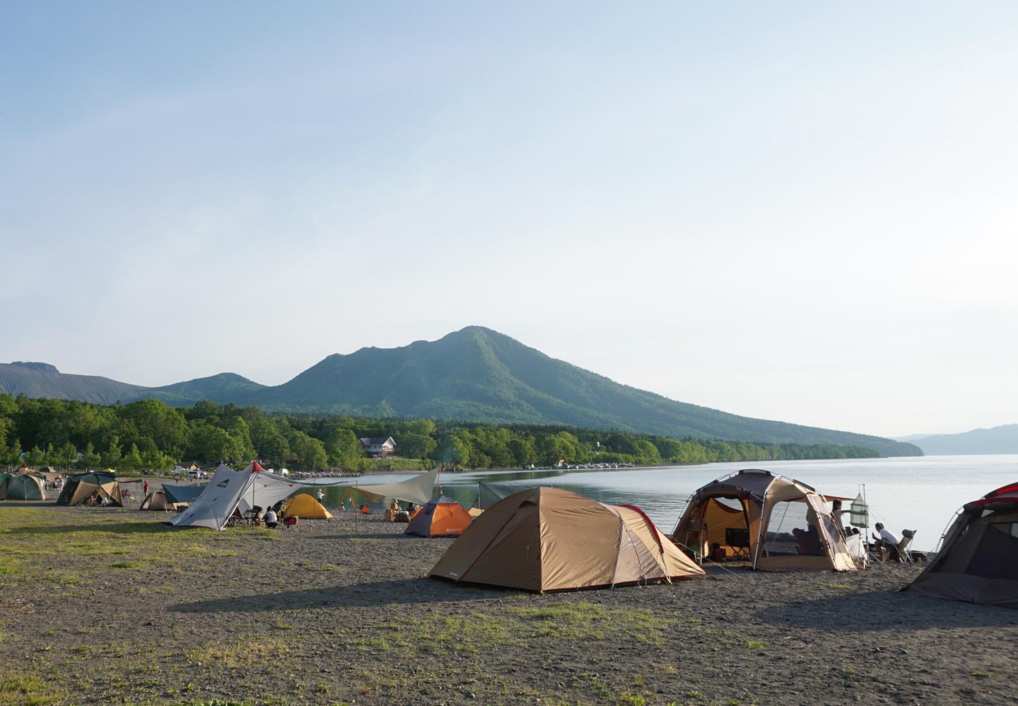 支笏湖モーラップキャンプ場20