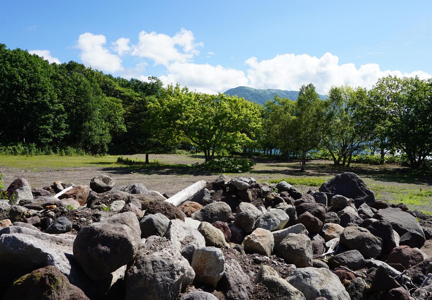 支笏湖ポロピナイキャンプ場23