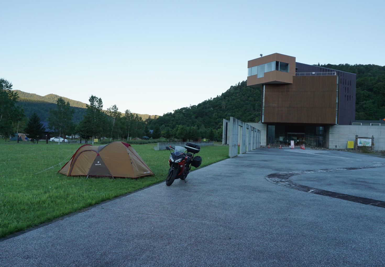 芦別市滝里湖オートキャンプ場01