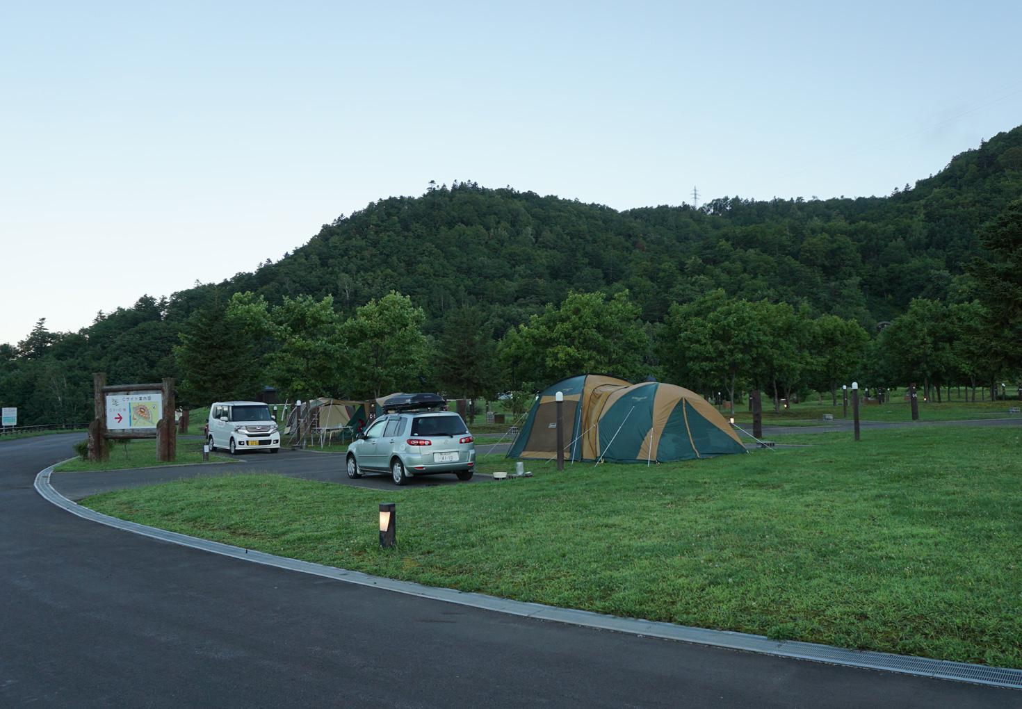 芦別市滝里湖オートキャンプ場09