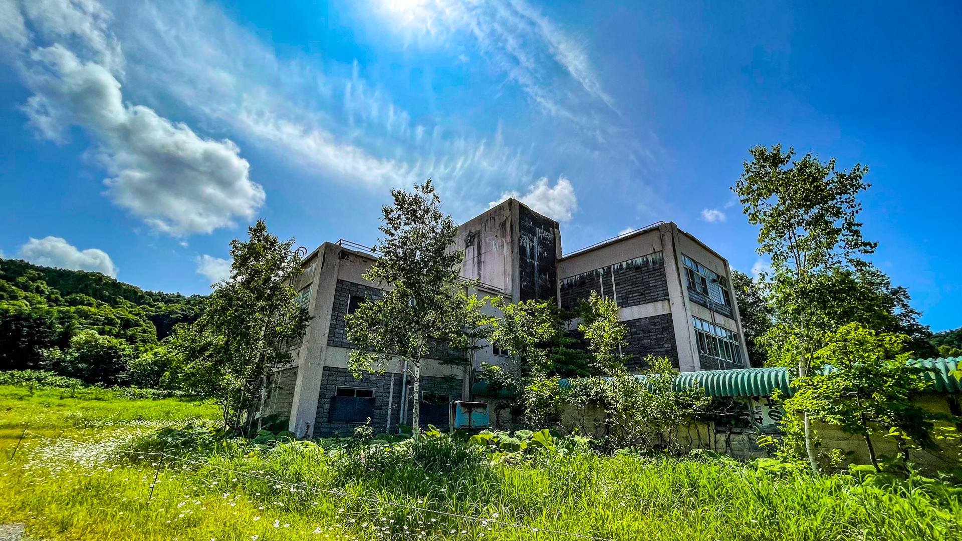 羽幌炭鉱 太陽小学校
