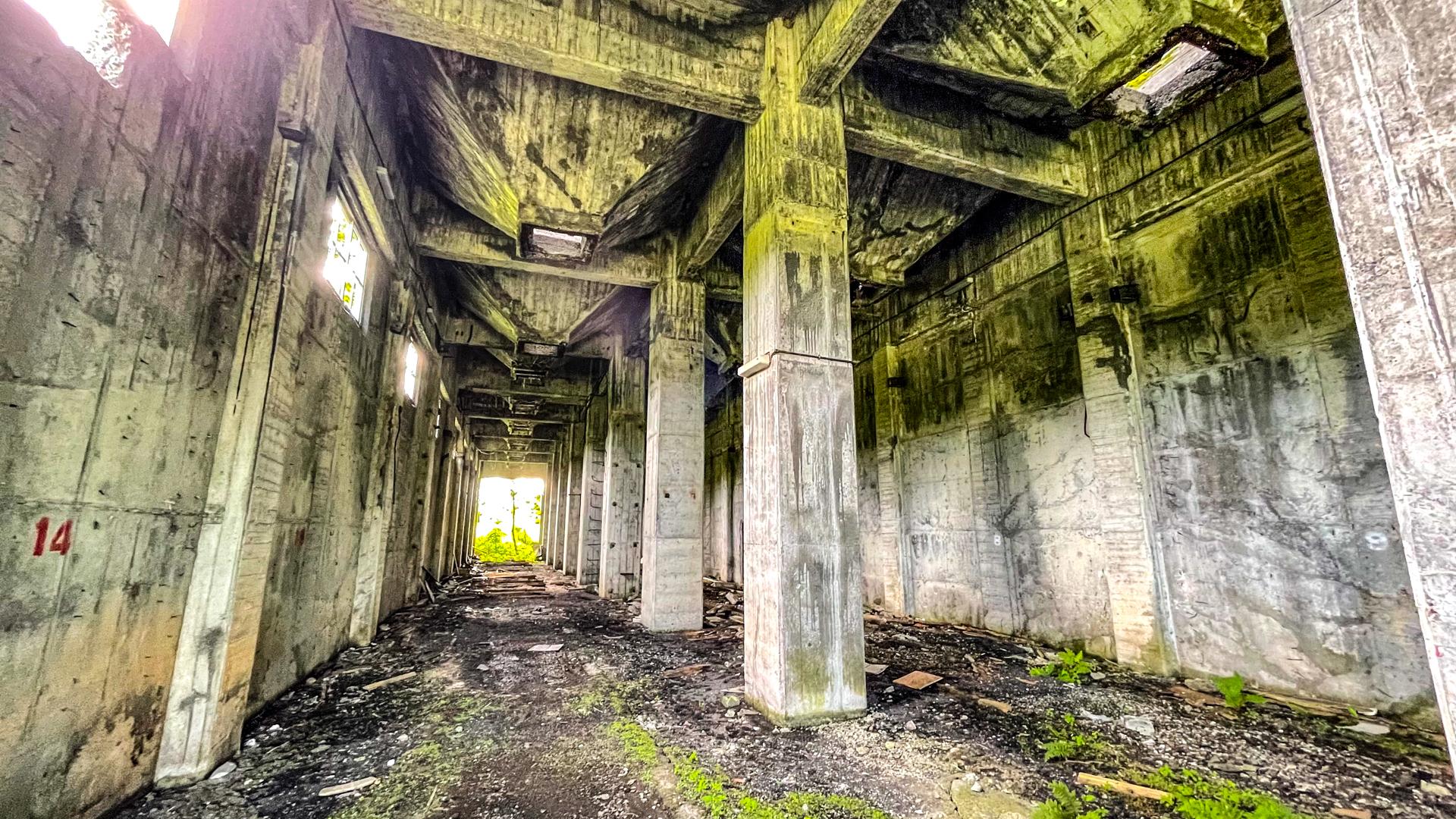 羽幌炭鉱 本坑
