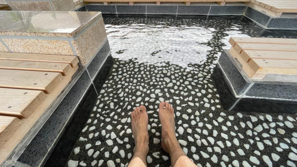 ぬかびら源泉郷温泉公園足湯