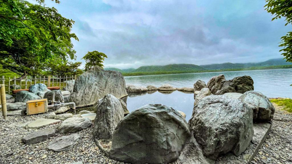 コタン温泉露天風呂 屈斜路湖