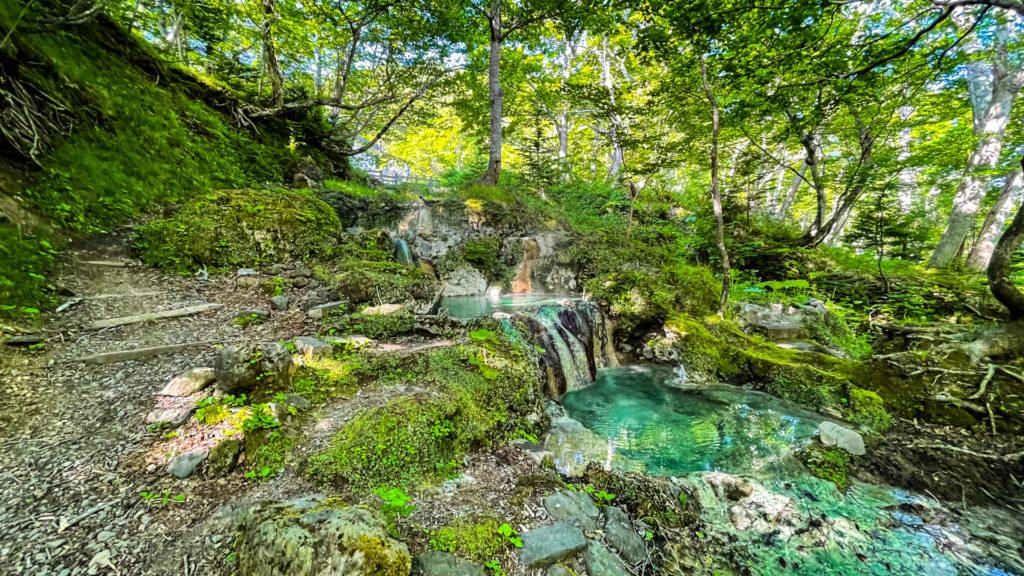 岩尾別温泉 三段の湯 全景