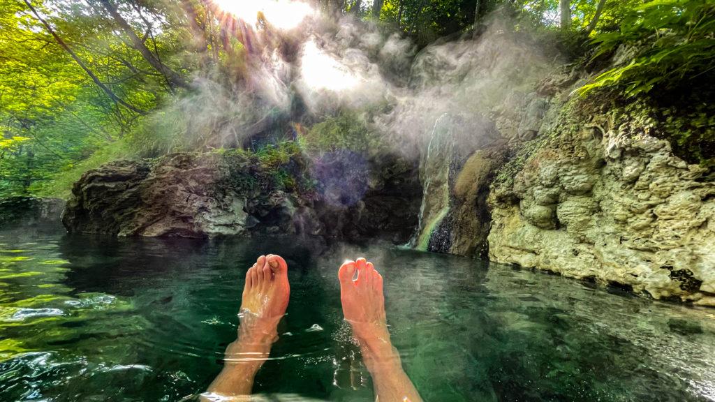 岩尾別温泉 三段の湯