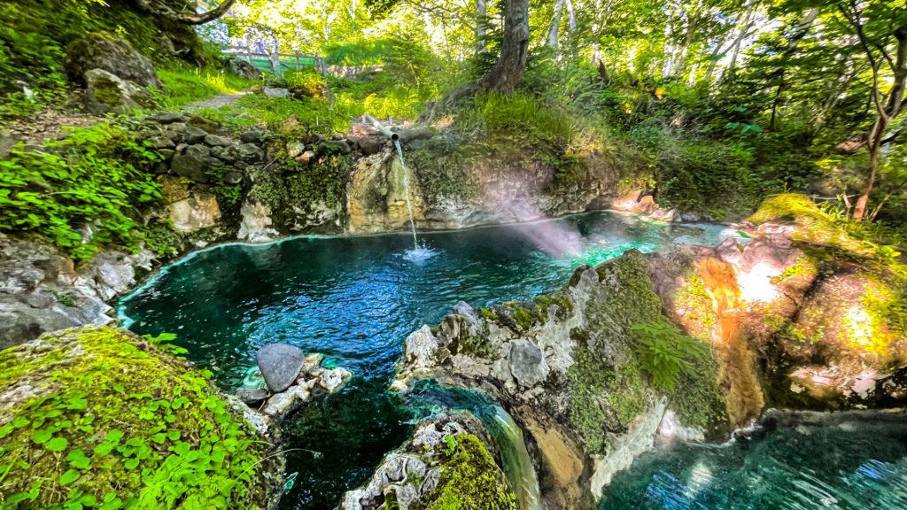 岩尾別温泉 三段の湯 上段
