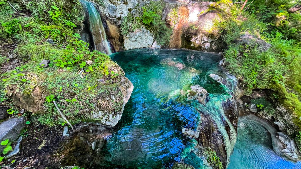 岩尾別温泉 三段の湯 中段