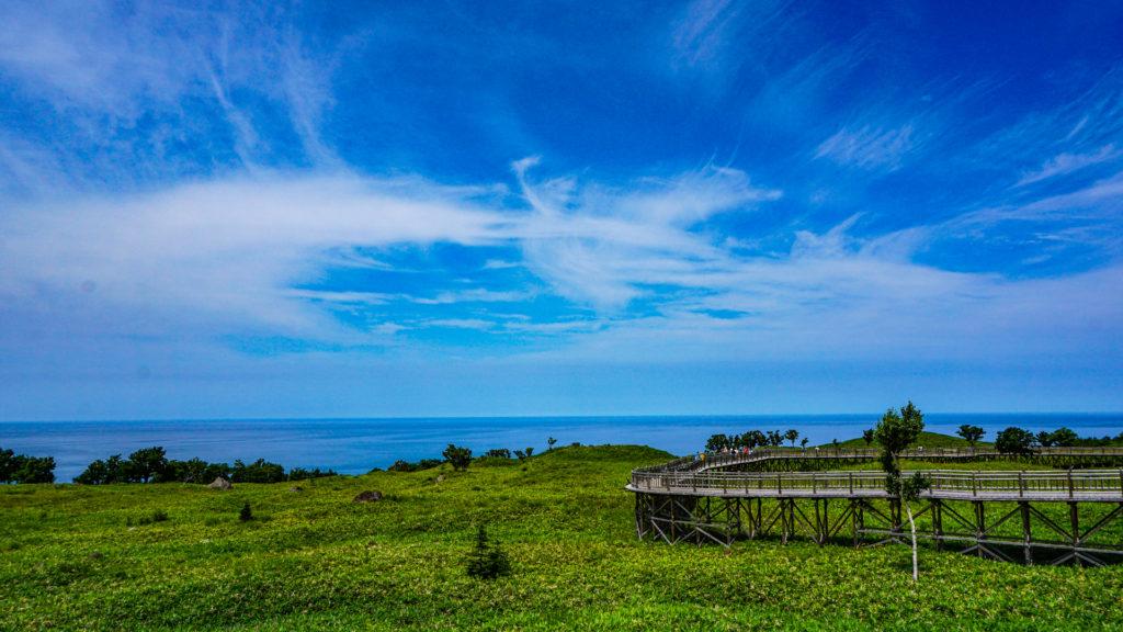 知床五湖 オホーツク海