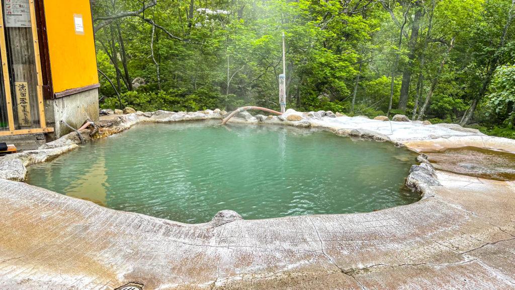 羅臼町 熊の湯 温泉