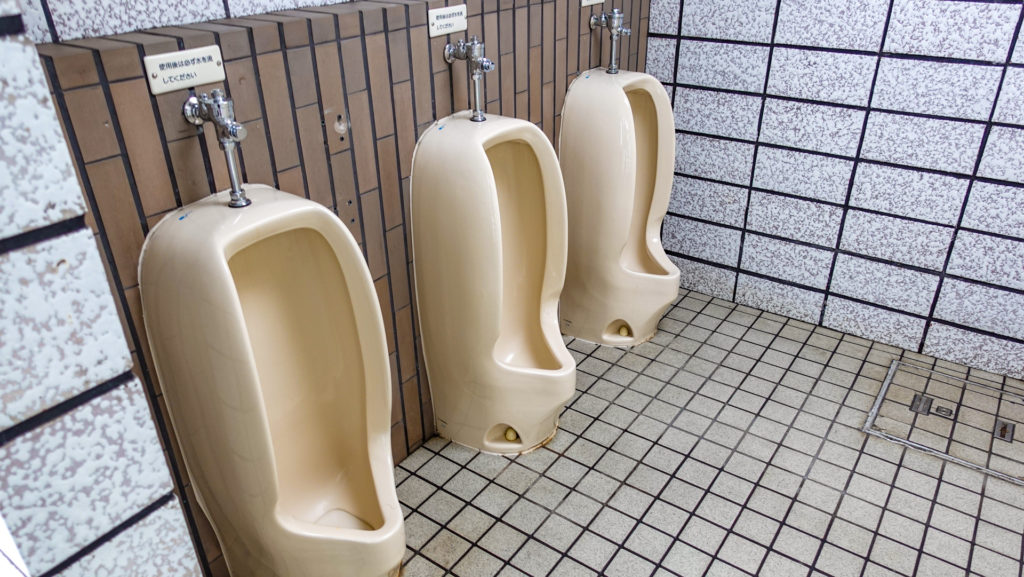 黄金岬キャンプ場 男性トイレ