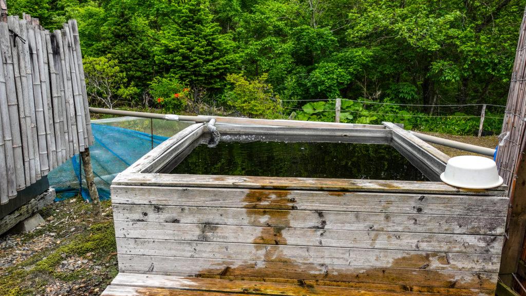 オーロラ温泉 (オーロラファームビレッジ)男性露天風呂