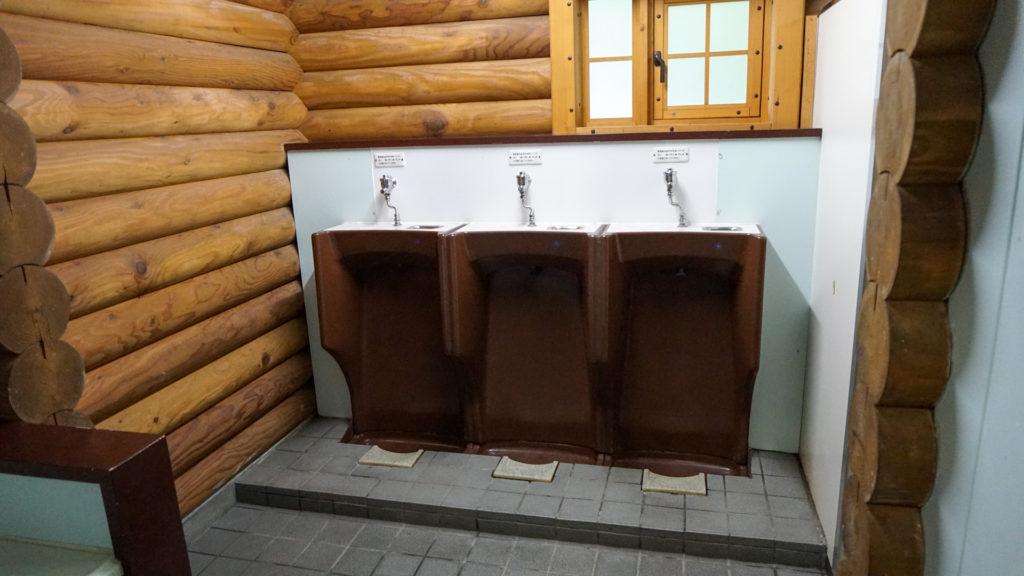 千歳市泉沢自然の森キャンプ場 トイレ