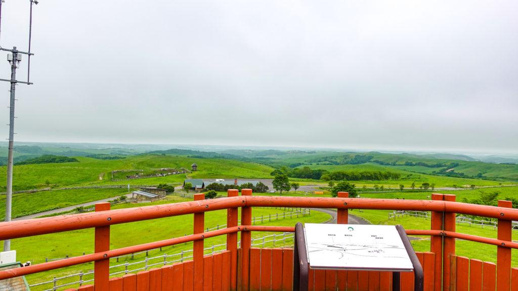多和平展望台からの風景