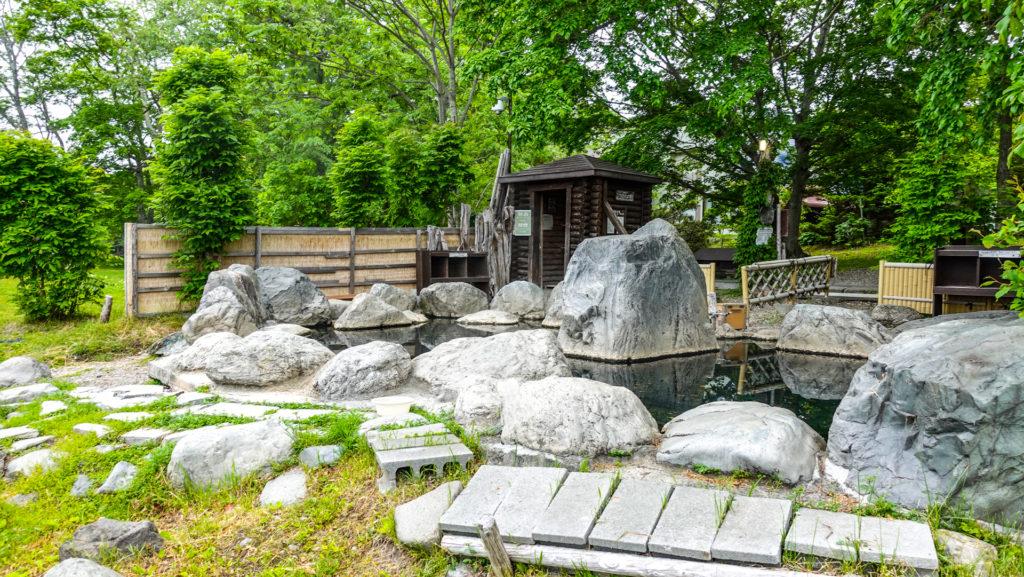 コタン温泉露天風呂 全景