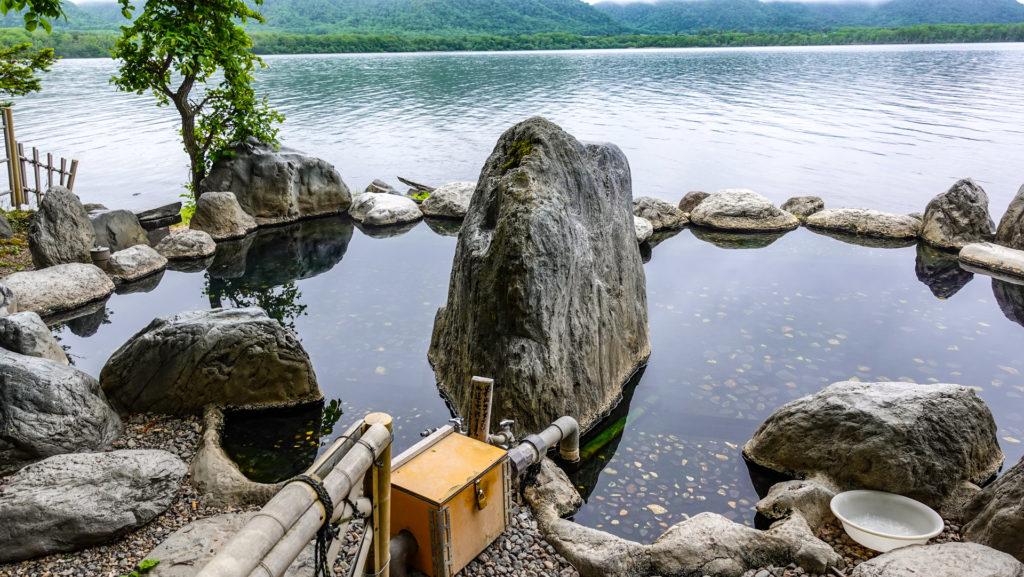 コタン温泉露天風呂 半混浴浴槽