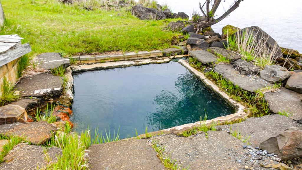 屈斜路湖 赤湯 浴槽
