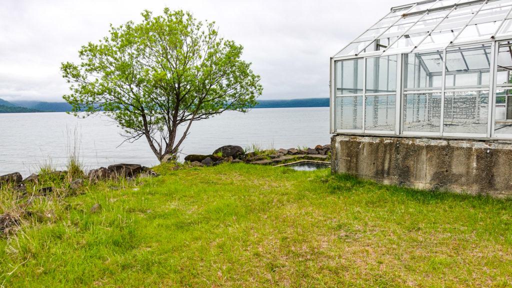 屈斜路湖 赤湯の場所